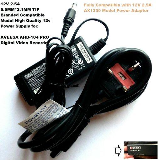 12V-Power-Adapter-for-AVEESA-AHD-104-PRO-Digital-Video-Recorder-192901567851.jpg