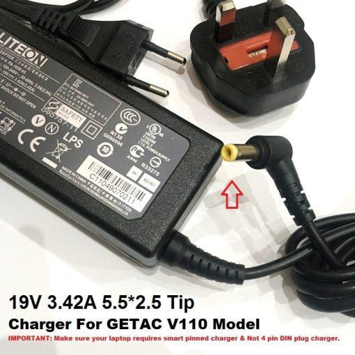GETAC 19V 5.5X2.5 TIP