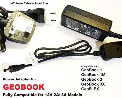 12V-2A-3A-Power-Supply-Adapter-for-GeoBook-1-GeoBook-1M-GeoFlex-Charger-for-GeoBook1-GeoBook1M-GeoFlex-116inch-B07R9SM1WF