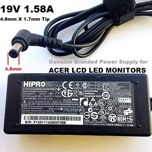 19V-158A-Compatible-Model-Power-Adapter-for-ACER-LCD-MONITOR-48mm-x-17mm-Tip-AC-Power-Cable-is-Included-Free-LOT-R-B07DZQN8R6