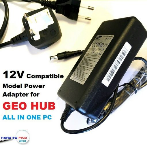 12V-Power-Supply-Adapter-Charger-for-GEO-HUB-GEOHUB-ALL-IN-ONE-PC-Geo-Hub-192961042493