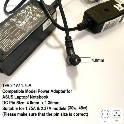 40x135-Tip-19v-Charger-for-Asus-Please-see-Compatible-models-in-description-193295843623