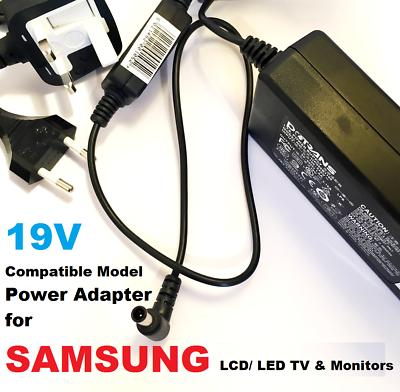 19V-Adapter-for-Samsung-J400D-UN32J400D-UN32J400DAF-UN32J400DAFXZA-192886746734