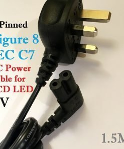 2-PIN-Figure-8-IEC-C7-Angled-Shape-90-Degree-UK-Type-Power-Cable-for-LCD-LED-TV-193220140646