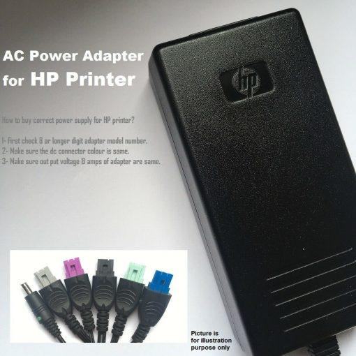 12v-1250ma-Adapter-for-HP-Printer-600-650C-750C-DeskJet-840C-5535-192918966597