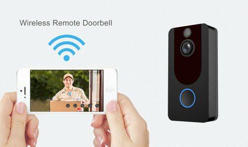 Weather-Proof-Smart-Wireless-All-in-One-Video-Door-Bell-Batteries-Chime-WiFi-193086592587-9