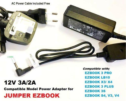 EZBOOK-Charger-12V-3A-for-JUMBER-EZBOOK-S4-EZBOOK-LB10-192891088549