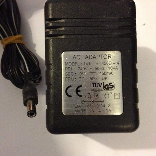 AC-ADAPTOR-9V-450MA-T41-9-450D-4-55MM-X-25MM-TIP-LOT-REF-54-B0719F7MG2