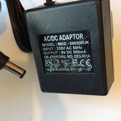 ACDC-ADAPTOR-9V-500MA-55mm-x-25mm-Tip-MKD-090500UK-LOT-REF-54-B01LZQWJZP