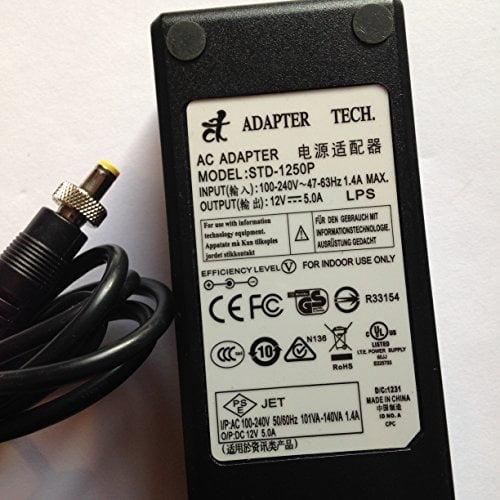 ADAPTER-TECH-12V-5A-STD-1250P-55MM-X-21MM-TIP-LOT-REF-08-B078PRW41T