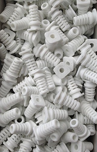 Cable-Grommet-Cable-Exit-Rubber-Cable-Protective-Rubber-4mm-10pcs-White-B01JM00NP0
