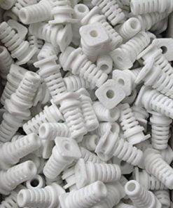 Cable-Grommet-Cable-Exit-Rubber-Cable-Protective-Rubber-4mm-40pcs-White-B01JM00NN2