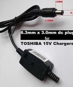 DC-Plug-63mm-x-30mm-for-15V-6A-5A-4A-3A-TOSHIBA-Laptop-Charger-Cable-Repairs-This-product-is-Not-power-supply-B07938RYDV