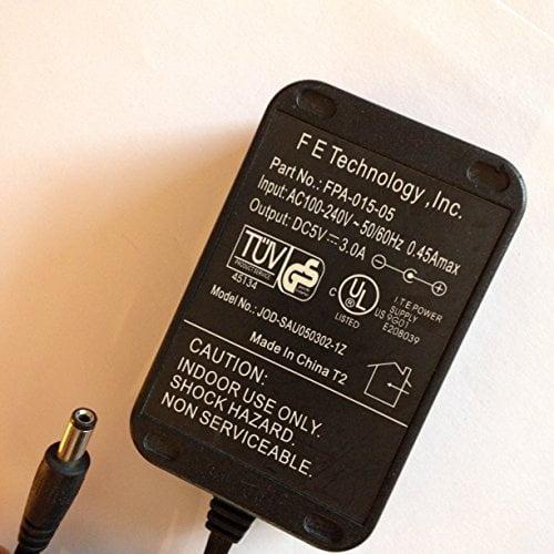 F-E-TECHNOLOGY-INC-5V-3A-FPA-015-05-JOD-SAU050302-1Z-55MM-X-21MM-TIP-Kettle-lead-ac-input-LOT-REF-30-B078RBWC86