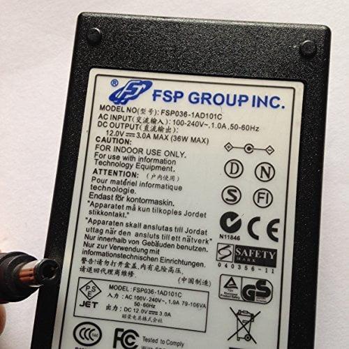 FSP-12V-3A-FSP036-1AD101C-55MM-X-25MM-TIP-REVERSE-POLARITYLOT-REF-08-B078PTH4BY