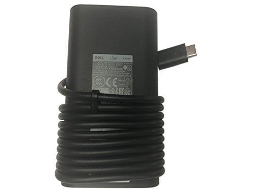 Genuine-Dell-Charger-PN-M1WCF-0M1WCF-OM1WCF-JYJNW-0JYJNW-OJYJNW-HA65NM170-65W-Auto-Adjustable-AC-Adapter-USB-C-20Vx325-B07DRM8CF5