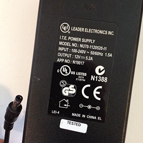 LEI-LEADER-ELECTRONICS-INC-12V-52A-NU70-1120520-L1-N19017-55MM-X-21MM-TIP-LOT-REF-08-B071LCJH7H