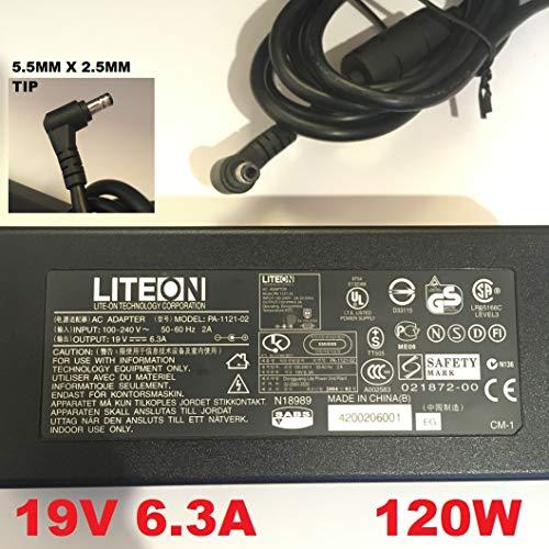 LITEON-19V-63A-632A-120W-55MM-x-25MM-TIP-PA-1121-02-PA-1121-04-Also-compatible-with-19V-63A-LITEON-PA-1131-B00PKBUJ64