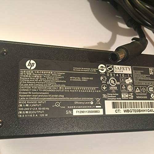 PPP016C-608426-002-185V-65A-120W-Power-Supply-Adapter-for-HP-Part-number-608426-002-A120A00AL-HW01-613154-001Pin-B07R63HNV1