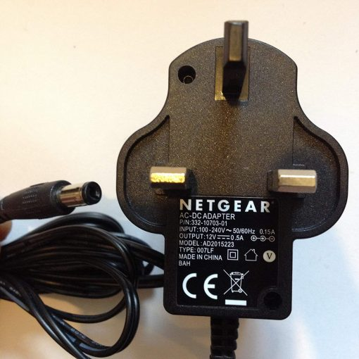 Power-Adapter-for-NETGEAR-Router-12V-05A-AD2015223-332-10703-01-55MM-X-21MM-TIP-LOT-REF-30-B0711PHK18