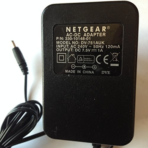 Power-Supply-Adapter-for-NETGEAR-75V-1A-35MM-x-135MM-Tip-PN-330-10148-01-DV-751AUK-LOT-REF-53-B01LZR5JEC
