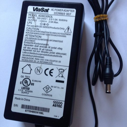Power-Supply-Adapter-for-VIASAT-1039069-007-30V-25A-55mm-x-25mm-Tip-AD8030N3L-LOT-REF-13-B071PC7B6K