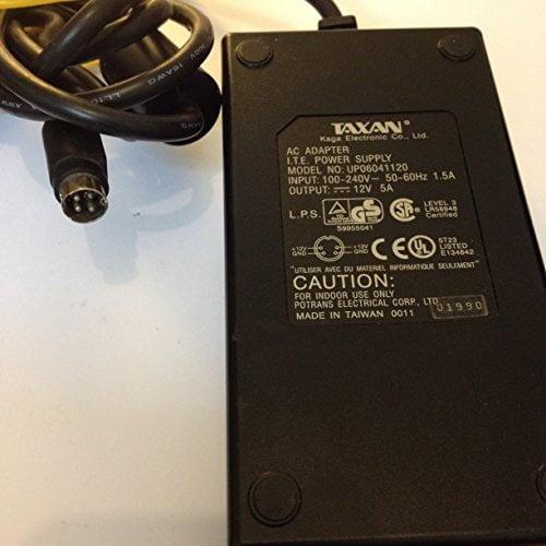 TAXAN-12V-5A-4PIN-TIP-UP06041120-LOT-REF-15-B01K0N3GBG