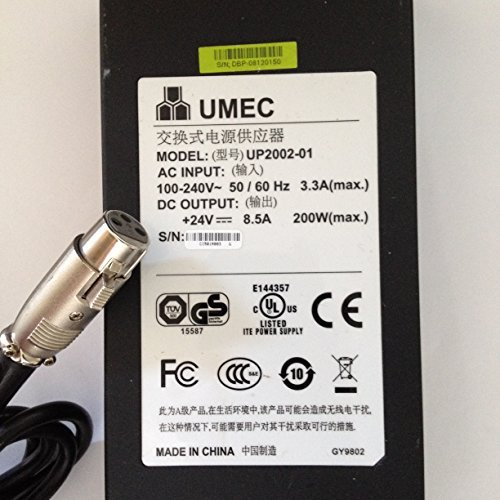UMEC-24V-85A-200W-UP2002-01-3-PIN-HOLE-PLUG-LOT-REF-03-B071HS12G8